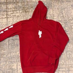 Red billie eilish sweatshirt
